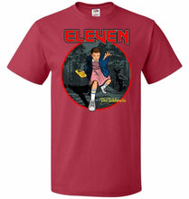 Load image into Gallery viewer, Eleven The Telekinetic Unisex T-Shirt - True Red / S - T-Shirt