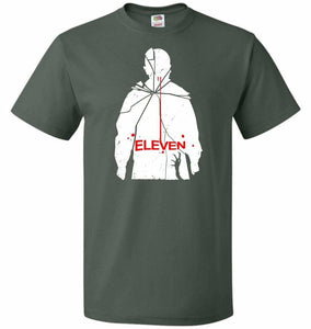 Eleven Unisex T-Shirt - Forest Green / S - T-Shirt