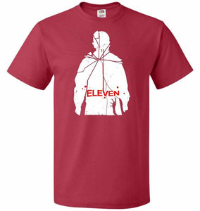 Eleven Unisex T-Shirt - True Red / S - T-Shirt