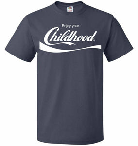 Enjoy Your Childhood Unisex T-Shirt - J Navy / S - T-Shirt