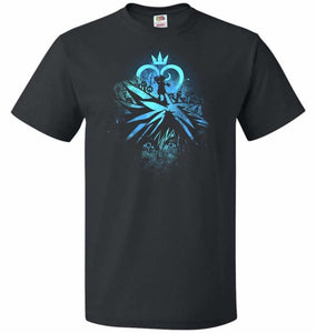 Face of The Key Blade Unisex T-Shirt - Black / S - T-Shirt