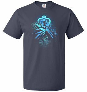 Face of The Key Blade Unisex T-Shirt - J Navy / S - T-Shirt