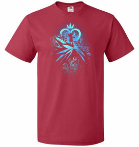 Face of The Key Blade Unisex T-Shirt - True Red / S - T-Shirt