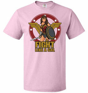 Fight Like A Gal Unisex T-Shirt - Classic Pink / S - T-Shirt