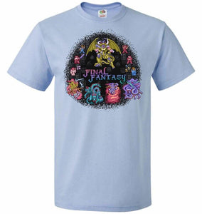 Final Fantasy Unisex T-Shirt - Light Blue / S - T-Shirt