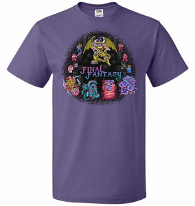 Final Fantasy Unisex T-Shirt - Purple / S - T-Shirt