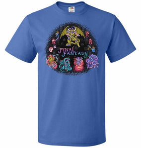 Final Fantasy Unisex T-Shirt - Royal / S - T-Shirt
