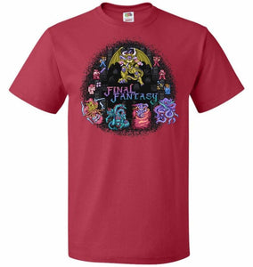 Final Fantasy Unisex T-Shirt - True Red / S - T-Shirt
