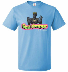 Fresh Panther Unisex T-Shirt - Aquatic Blue / S - T-Shirt