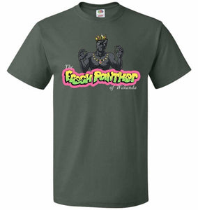 Fresh Panther Unisex T-Shirt - Forest Green / S - T-Shirt