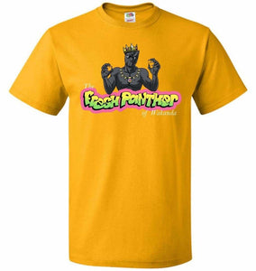 Fresh Panther Unisex T-Shirt - Gold / S - T-Shirt