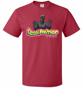 Fresh Panther Unisex T-Shirt - True Red / S - T-Shirt