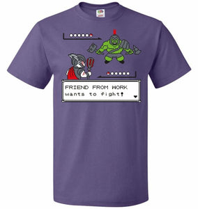 Friendly Foe Unisex T-Shirt - Purple / S - T-Shirt