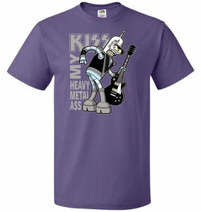 Heavy Metal Ass Unisex T-Shirt - Purple / S - T-Shirt