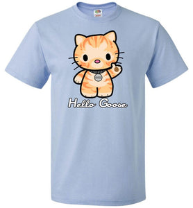 Hello Goose Unisex T-Shirt - Light Blue / S - T-Shirt