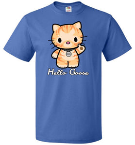 Hello Goose Unisex T-Shirt - Royal / S - T-Shirt