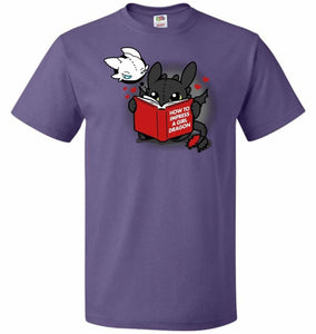How To Impress A Girl Dragon Unisex T-Shirt - Purple / S - T-Shirt