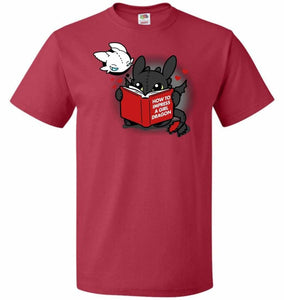 How To Impress A Girl Dragon Unisex T-Shirt - True Red / S - T-Shirt