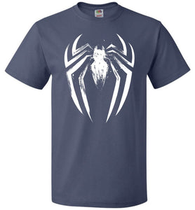 I Am The Spider Unisex T-Shirt - Denim / S - T-Shirt