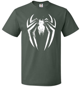 I Am The Spider Unisex T-Shirt - Forest Green / S - T-Shirt