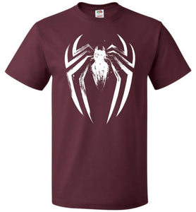 I Am The Spider Unisex T-Shirt - Maroon / S - T-Shirt