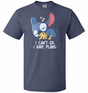 I Cant Go Stitch Unisex T-Shirt - Denim / S - T-Shirt