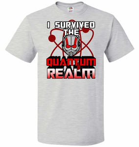 I Survived The Quantum Realm Unisex T-Shirt - Ash / S - T-Shirt