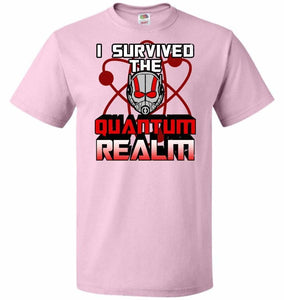 I Survived The Quantum Realm Unisex T-Shirt - Classic Pink / S - T-Shirt