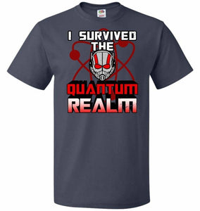 I Survived The Quantum Realm Unisex T-Shirt - J Navy / S - T-Shirt
