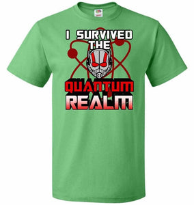I Survived The Quantum Realm Unisex T-Shirt - Kelly / S - T-Shirt
