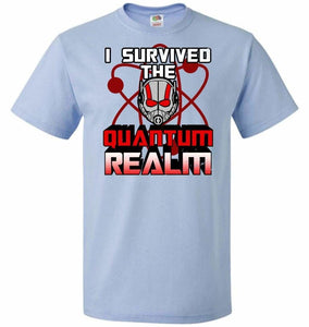 I Survived The Quantum Realm Unisex T-Shirt - Light Blue / S - T-Shirt