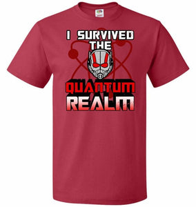 I Survived The Quantum Realm Unisex T-Shirt - True Red / S - T-Shirt