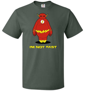 Im Not Fast Unisex T-Shirt - Forest Green / S - T-Shirt