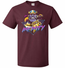 Load image into Gallery viewer, Infinity Unisex T-Shirt - Maroon / S - T-Shirt