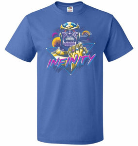 Infinity Unisex T-Shirt - Royal / S - T-Shirt