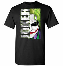 Load image into Gallery viewer, Joker Unisex T-Shirt - Black / S - T-Shirt