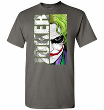 Load image into Gallery viewer, Joker Unisex T-Shirt - Charcoal / S - T-Shirt