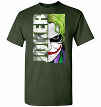 Load image into Gallery viewer, Joker Unisex T-Shirt - Forest Green / S - T-Shirt