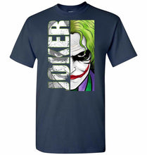 Load image into Gallery viewer, Joker Unisex T-Shirt - Navy / S - T-Shirt