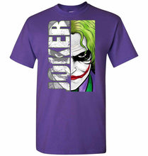 Load image into Gallery viewer, Joker Unisex T-Shirt - Purple / S - T-Shirt