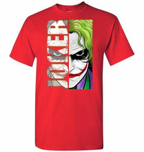 Load image into Gallery viewer, Joker Unisex T-Shirt - Red / S - T-Shirt