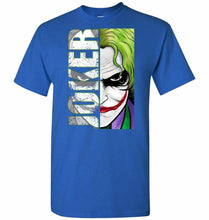 Load image into Gallery viewer, Joker Unisex T-Shirt - Royal / S - T-Shirt