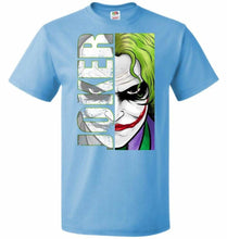 Load image into Gallery viewer, Joker Unisex Youth T-Shirt - Aquatic Blue / Youth S - T-Shirt