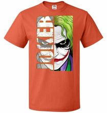Load image into Gallery viewer, Joker Unisex Youth T-Shirt - Burnt Orange / Youth S - T-Shirt