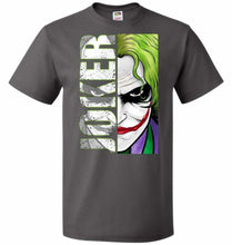 Load image into Gallery viewer, Joker Unisex Youth T-Shirt - Charcoal Grey / Youth S - T-Shirt