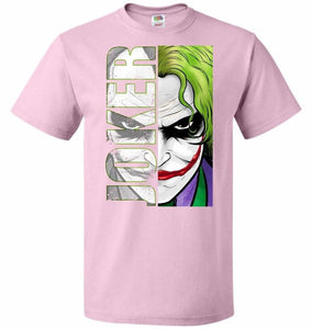Joker Unisex Youth T-Shirt - Classic Pink / Youth S - T-Shirt
