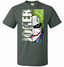 Load image into Gallery viewer, Joker Unisex Youth T-Shirt - Forest Green / Youth S - T-Shirt