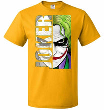 Load image into Gallery viewer, Joker Unisex Youth T-Shirt - Gold / Youth S - T-Shirt
