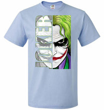 Load image into Gallery viewer, Joker Unisex Youth T-Shirt - Light Blue / Youth S - T-Shirt