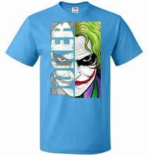 Load image into Gallery viewer, Joker Unisex Youth T-Shirt - Pacific Blue / Youth S - T-Shirt